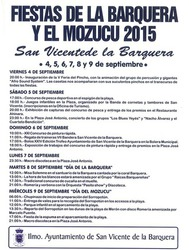 Fiestas de La Barquera y El Mozucu 2015