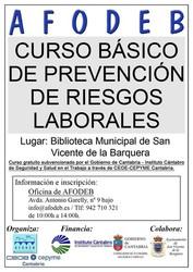 Curso gratuito de Prevención de Riesgos Laborales 2015