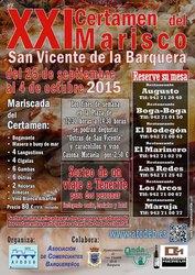 XXI CERTAMEN DEL MARISCO 2015 - SAN VICENTE DE LA BARQUERA