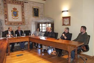 Reunión AFODEB con el Consejero de Obras Públicas y el Ayuntamiento de San Vicente de la Barquera