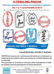VI Feria del Pincho de San Vicente de la Barquera 2016