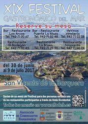 Sorteo de menús del XIX Festival Gastronómico del Mar 2017