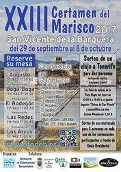 Sorteo de Mariscadas XXIII Certamen del Marisco 2017