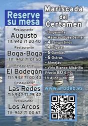 Sorteo de un Viaje a Tenerife para 2 personas - XXIII Certamen del Marisco 2017