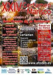 Sorteo de Mariscadas XXIV Certamen del Marisco 2018