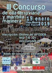 III Concurso de olla ferroviaria y marmita marinera de San Vicente de la Barquera 2019