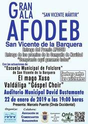 Gala AFODEB - 22 de enero de 2019