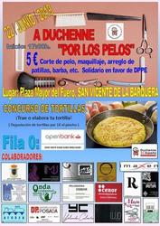 """A DUCHENNE """"POR LOS PELOS"""" - 22 de junio de 2019 en San Vicente de la Barquera"""