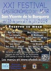 Sorteo de menús del XXI Festival Gastronómico del Mar 2019
