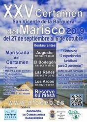 Sorteo de Mariscadas XXV Certamen del Marisco 2019