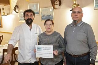 XXV Certamen del Marisco 2019 - Entrega del bono de la 2ª