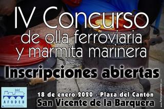 IV Concurso de olla ferroviaria y marmita marinera de San Vicente de la Barquera 2020