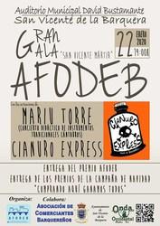 Gala AFODEB - 22 de enero de 2020