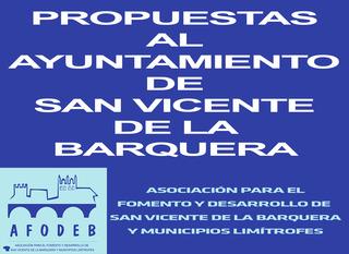AFODEB - Propuestas al Ayuntamiento de San Vicente de la Barquera - Estado de alarma
