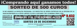 Sorteo 28 de diciembre de 2020 - Campaña de Navidad