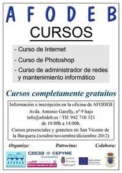 CURSOS AFODEB - OTOÑO 2012