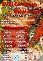 Sorteo de Mariscadas XVIII Certamen del Marisco 2012