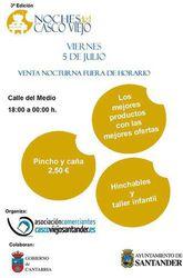 Noches del Casco Viejo de Santander - Asociación de Comerciantes del Casco Viejo de Santander