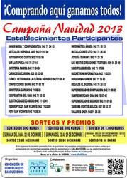 Campaña de Navidad 2013 - Sorteo del 23 de diciembre - 500 €
