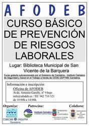 Curso gratuito de Prevención de Riesgos Laborales 2014