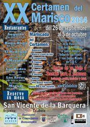 Sorteo de un Viaje a Tenerife para 2 personas - XX Certamen del Marisco 2014