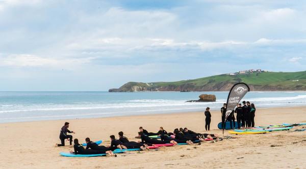 ESCUELA DE SURF SAN VICENTE COSTA NORTE